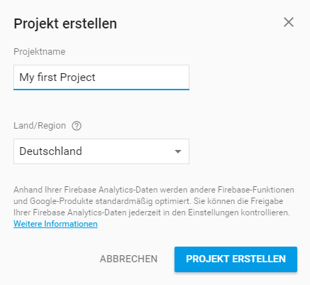 firebase_new_project