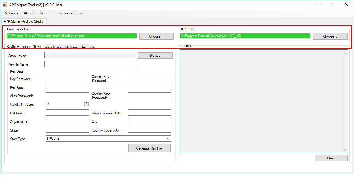 Android APK Signing Tool v2 (apksigner)   Shatter-Box