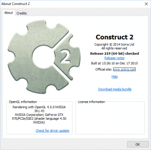 Find out your Construct 2 Version | Shatter-Box