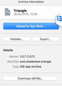 Publish your iOS game to iTunes | Shatter-Box