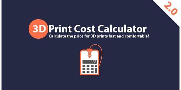 3D Print Cost Calculator 2.0 - Beta
